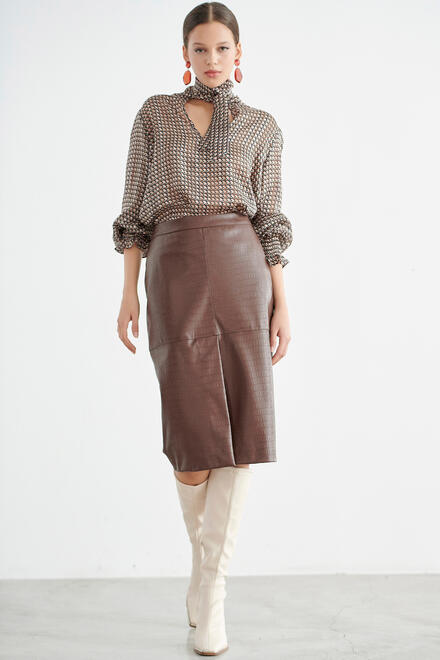 Skirt - Taupe S