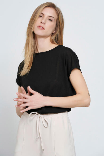 Knitted blouse - Black S