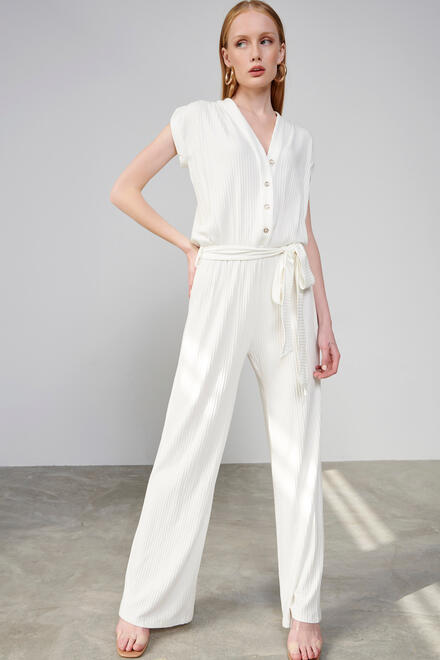 Jumpsuit - Off White S