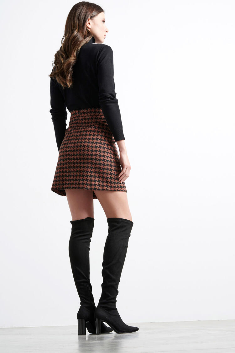 Skirt - Brown S