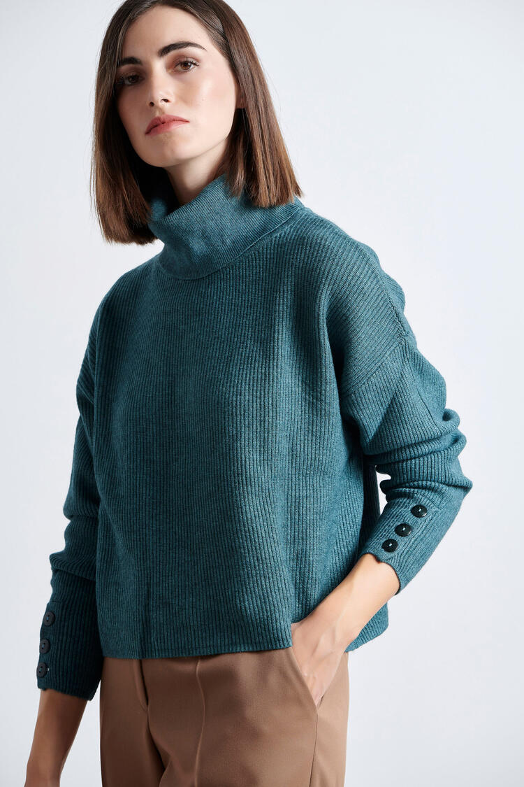 Blouse - GREEN S