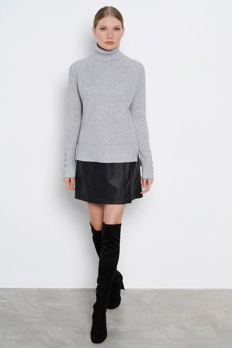 Blouse - Grey O/S