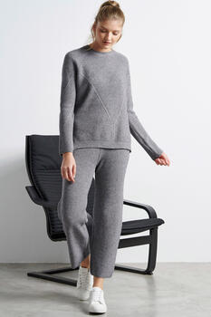 Knitted set - Grey O/S